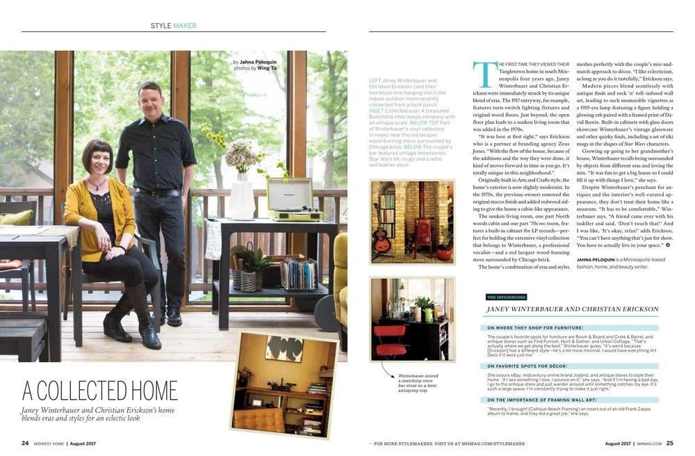 Beste Decor Magazine Picture Framing Zeitgenössisch ...