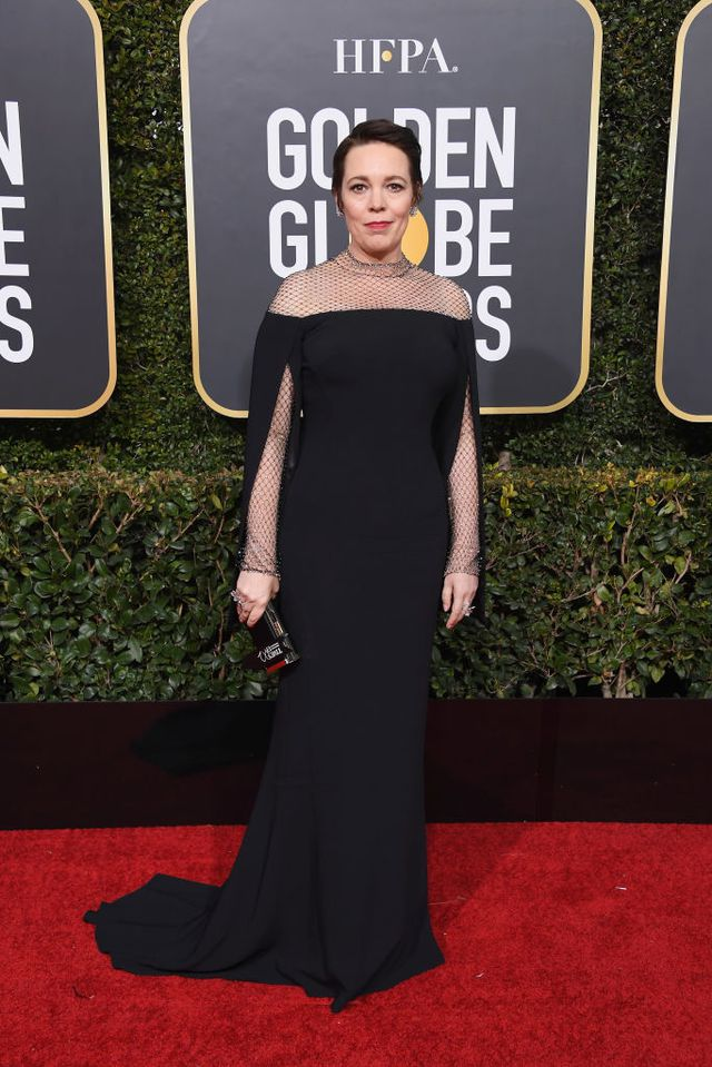 Olivia Colman in Stella McCartney