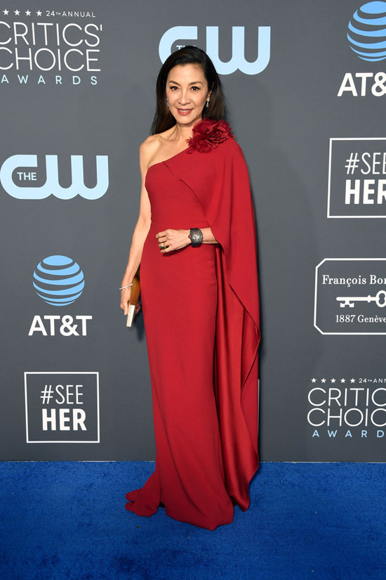 Michelle Yeoh in Marchesa