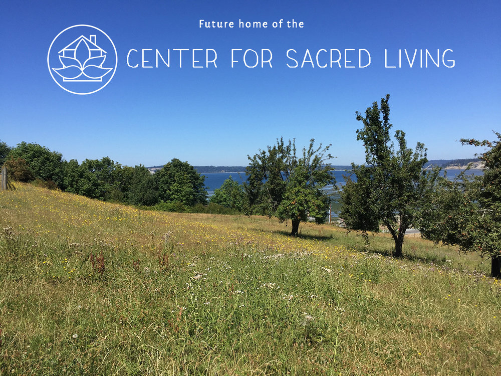This beautiful Whidbey Island property is the future home of the Center for Sacred Living. Our vision for the land is to create a magical retreat space to host the Sacred Women Retreats and to re-wild it the land. Work has begun and we're excited to share our progress. To stay connected follow us on  Instagram .