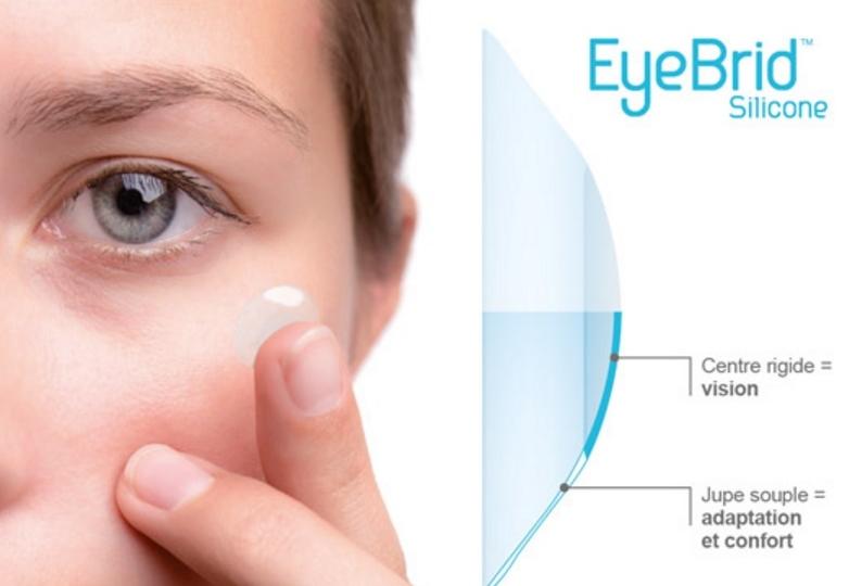 lentille EyeBrid silicone