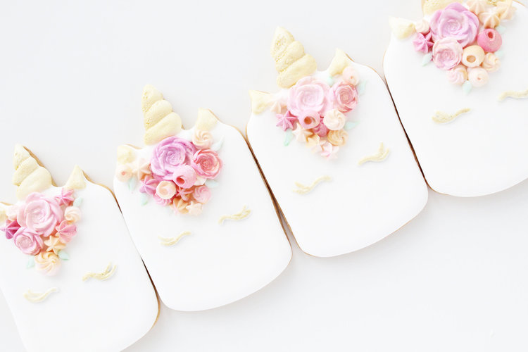 Custom Additions - $2-5 Per Macaron or Cookie(Fondant, Royal Icing Flowers, etc)