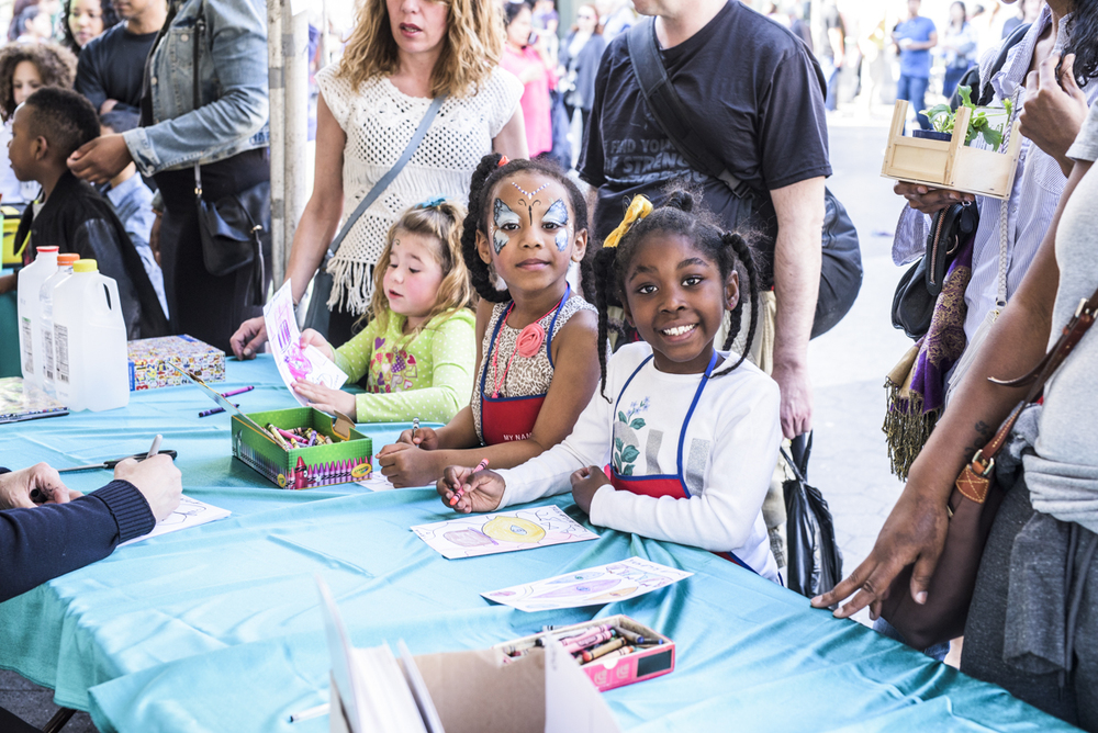 Fun and interactive kids' activities at Earth Day New York.