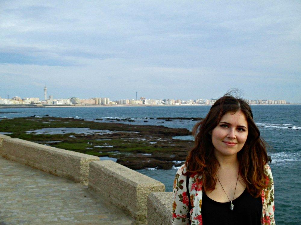 Enjoying a cultural excursion in Cadiz, Spain.