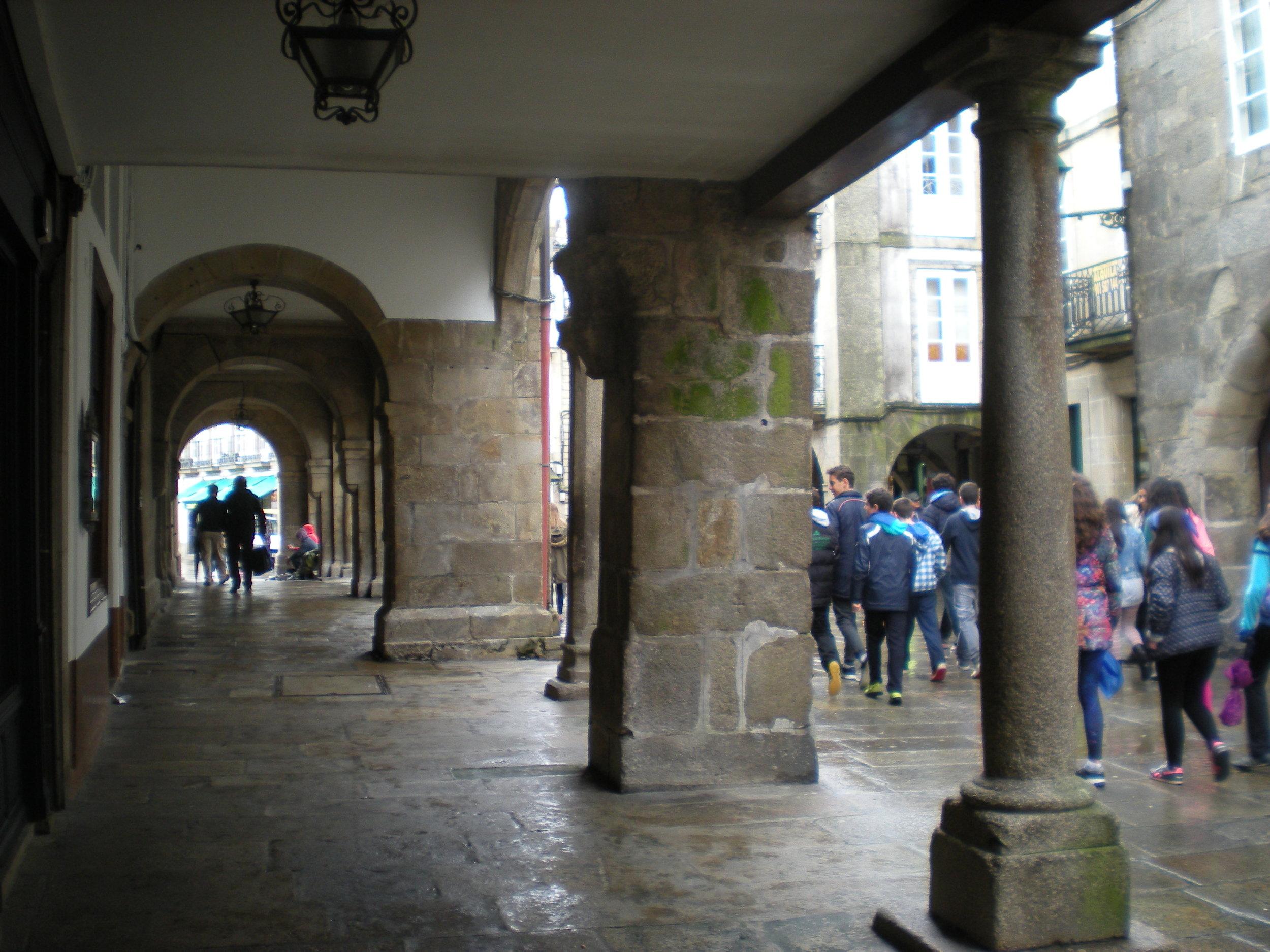 Soportales, Santiago de Compostela