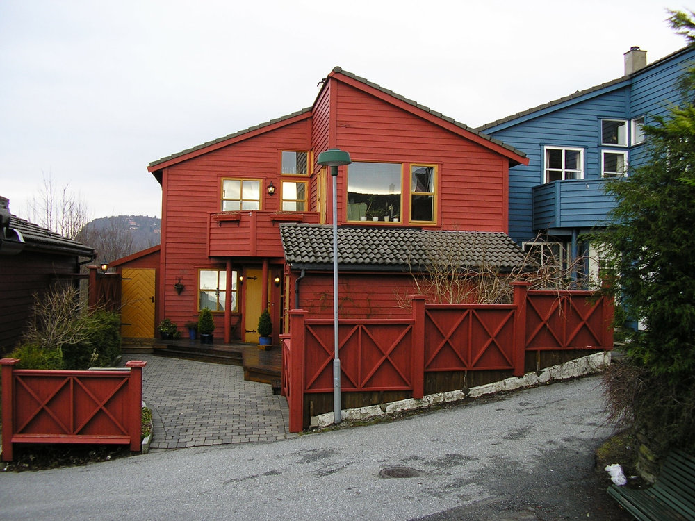 Home in Nesttun, Norway