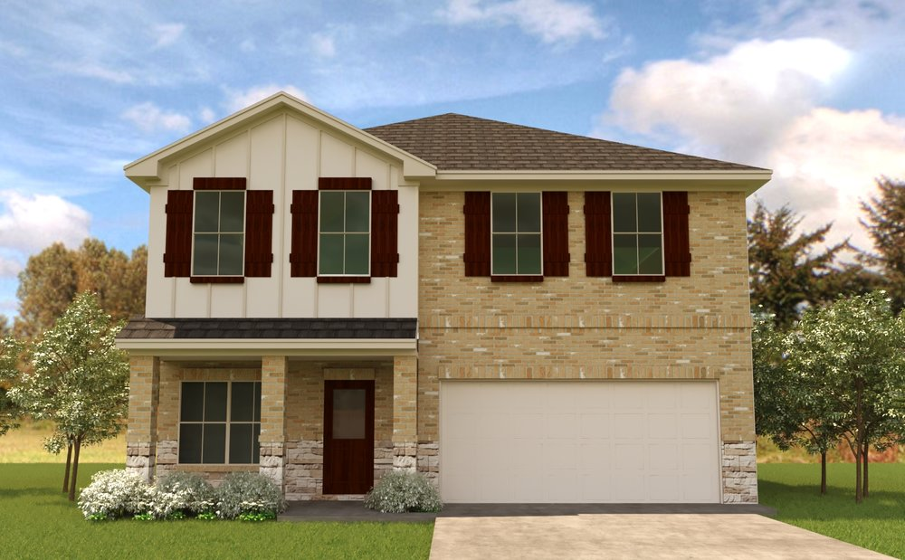 Newport - From the $170's - Access to Lake Houston and only 22 minutes from downtown Houston.