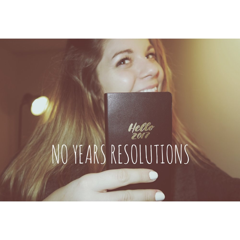 No Years Resolutions — The Bee Wrd