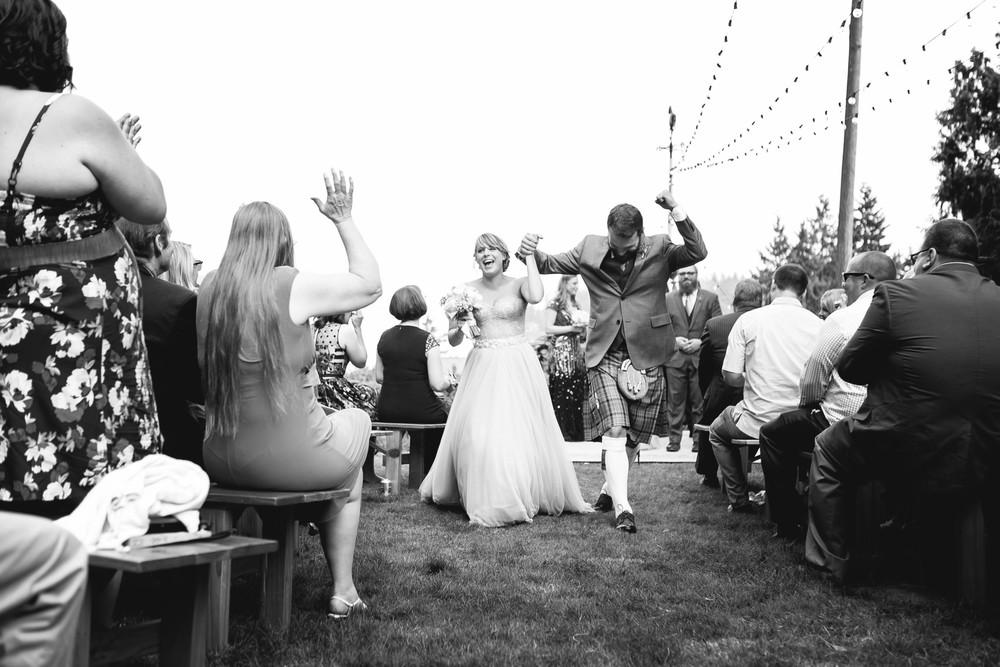 Laura + Jim, Backyard Wedding on Bainbridge Island, WA
