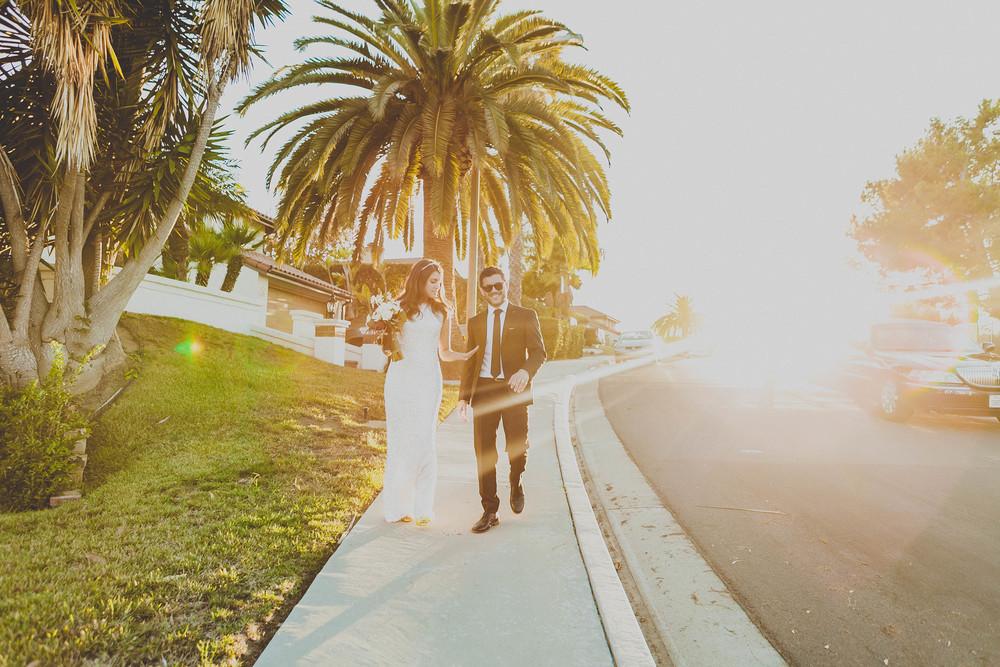 Kelly + Brendan, Backyard Wedding in San Clemente, CA