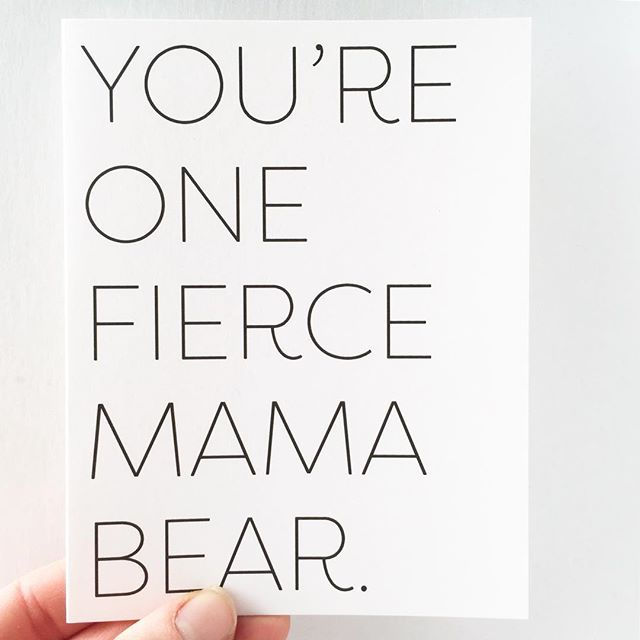 🐻 Mother's Day is just over a week away 🐻 DM us for help finding our Mother's Day cards in a store near you.