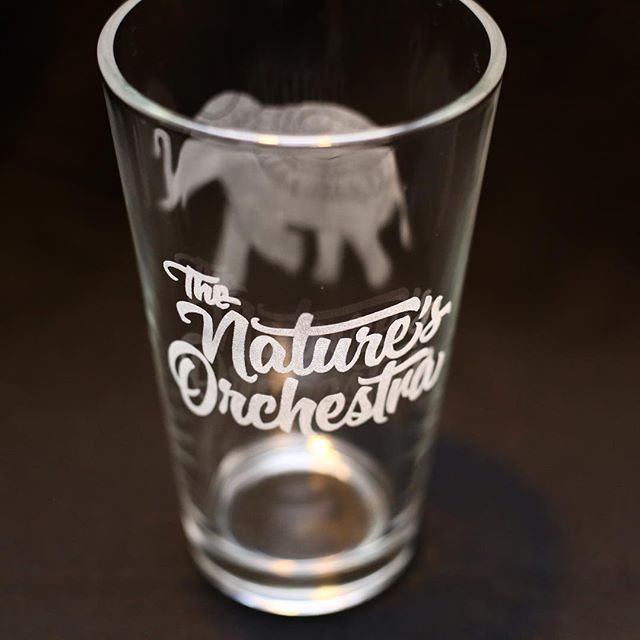 Our new #elephant pint glasses for a nice cold #beer . Thanks to @dangerhagan & @aeromediaproductions for the quick #photoshoot