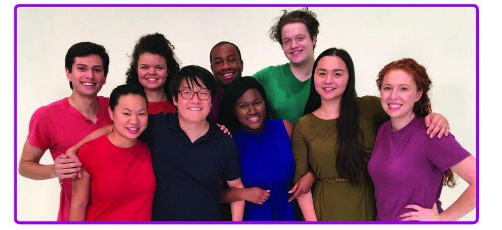 Touch for the 21st Century Acting Company back row- Daniel Sakamoto-Wengel ,Megan Burns, Ricardo Wayne, Davis Brinker, front row-Ming Montgomery ,Eric Sharp, Comfort Dolo, Isabella La Blanc, Calli Kunz.