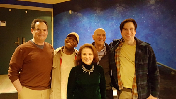 Jim Cunningham, Ricky Morisseau, Tovah Feldshuh, David Feldshuh and Sam Bardwell from    Dancing With Giants