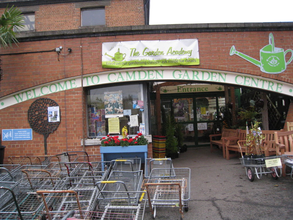 Camden Garden Centre - It has a brilliant, well-sourced cafe, and helps local youth find employment and training.