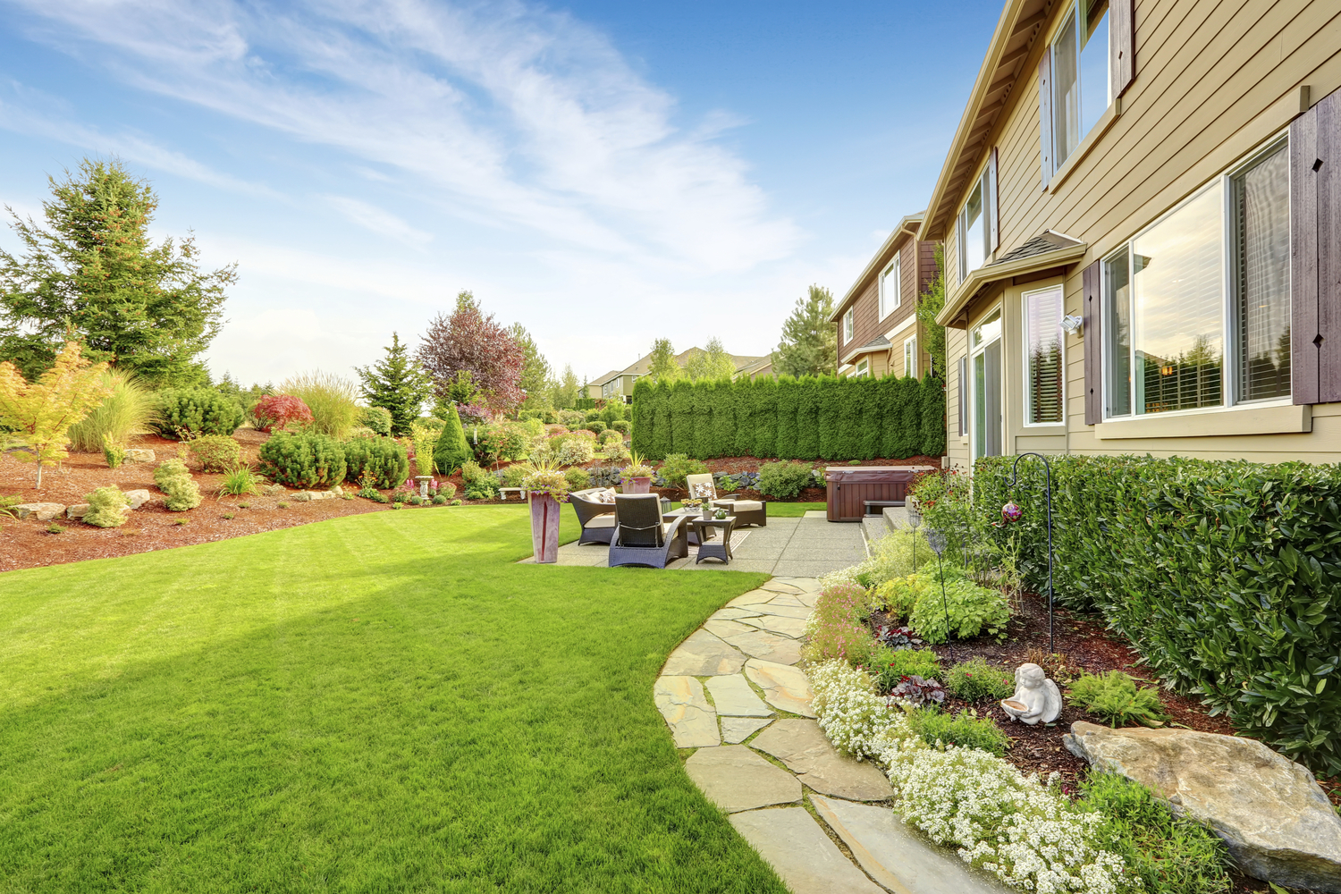landscaping planting and hardscaping in cold spring beacon