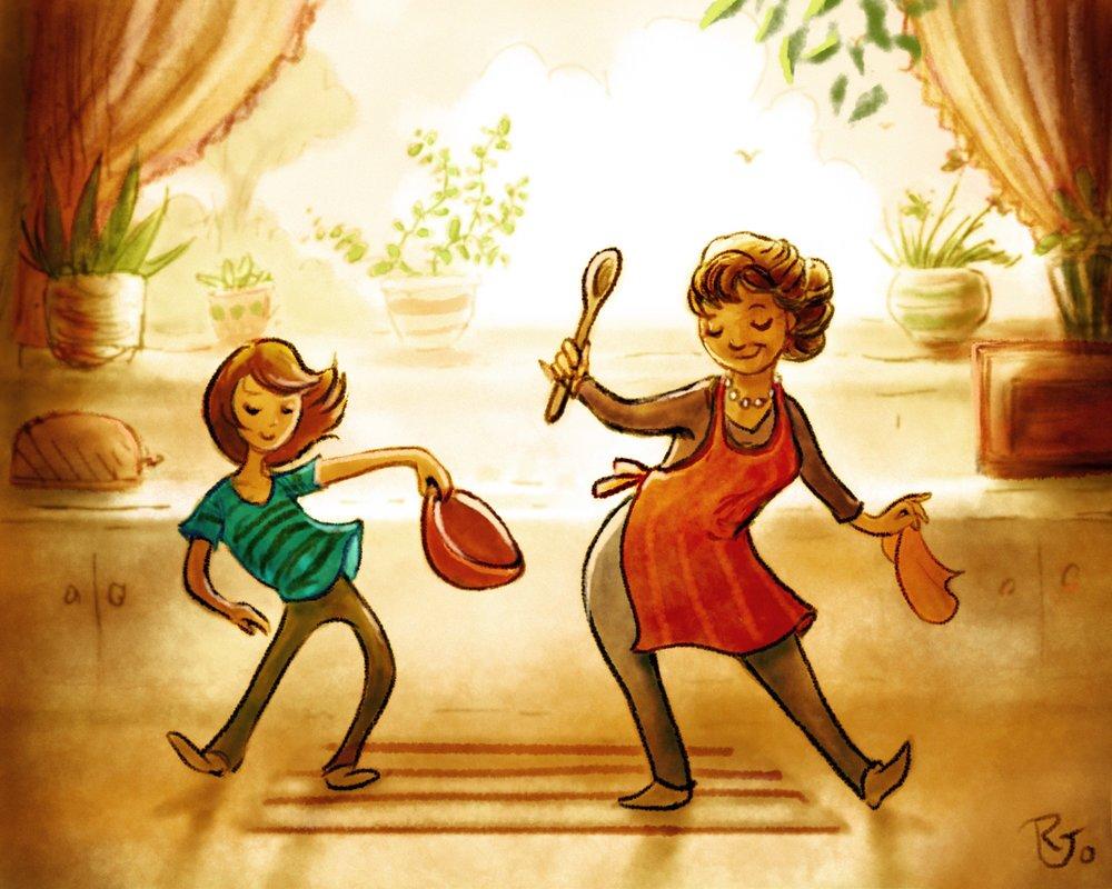 Dancin' in the Kitchen With Gramma