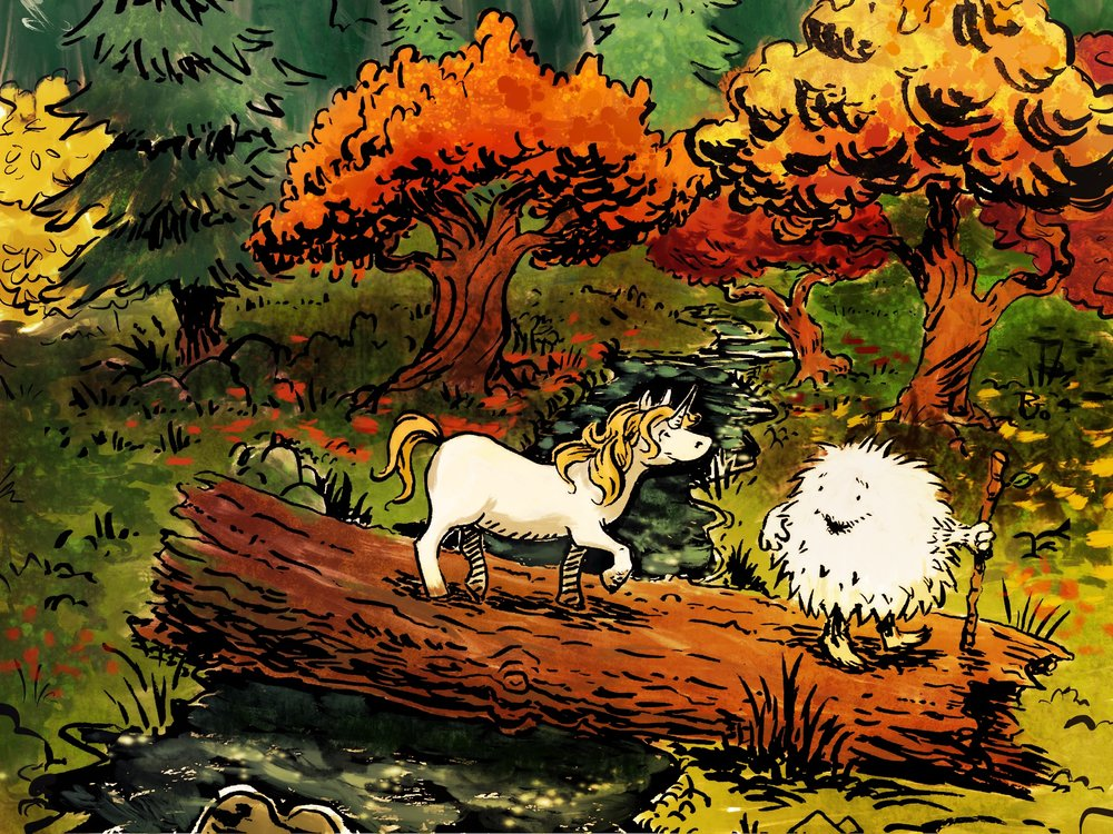 The Yeti and the Unicorn
