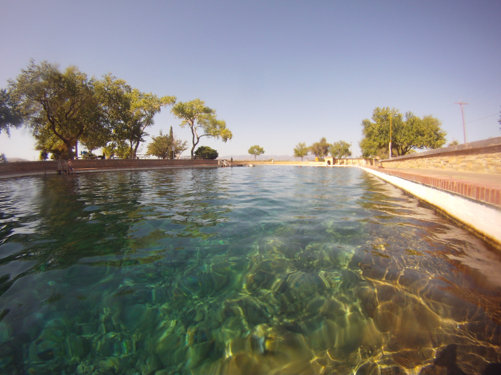 Natural spring / pool at Balmorhea State Park