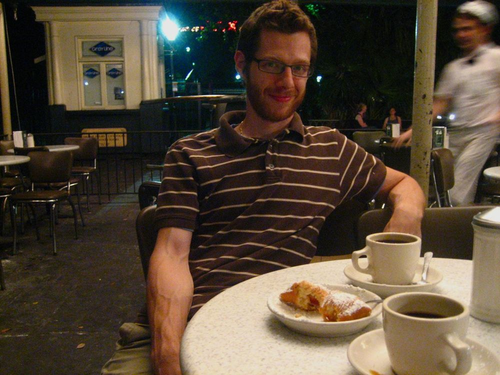 Cafe du Monde for late-night beignets and coffee!