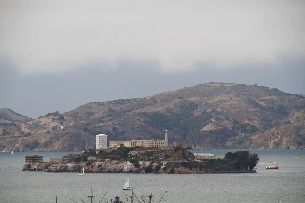 Fog and Alcatraz
