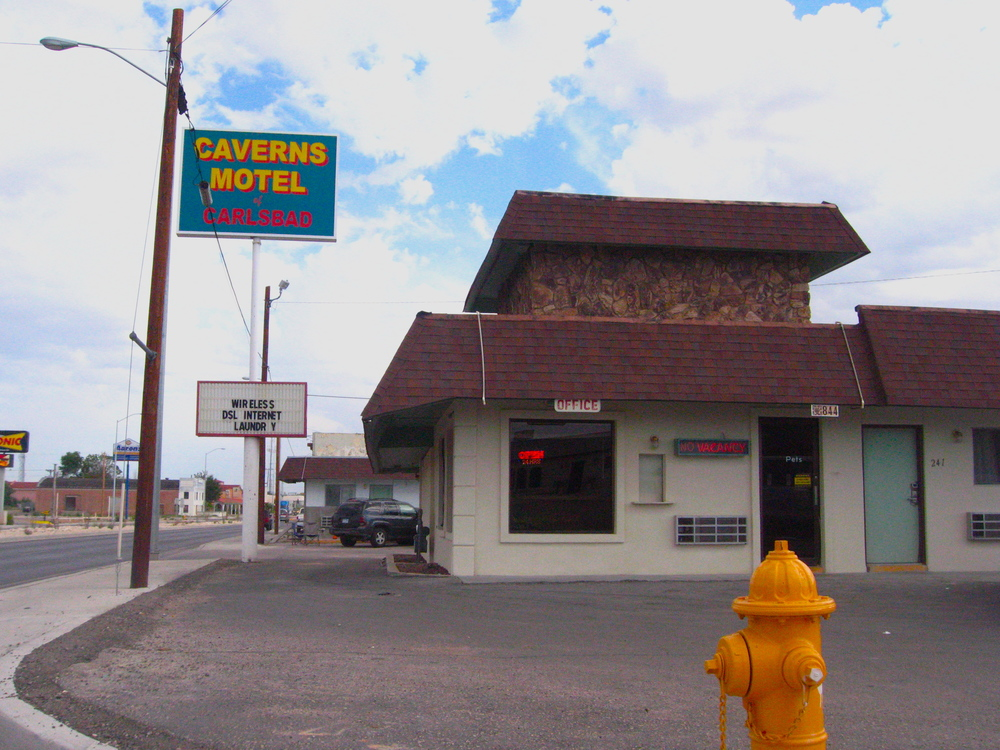 Caverns Motel -  If this motel were even on Yelp I'd rate it a 1.