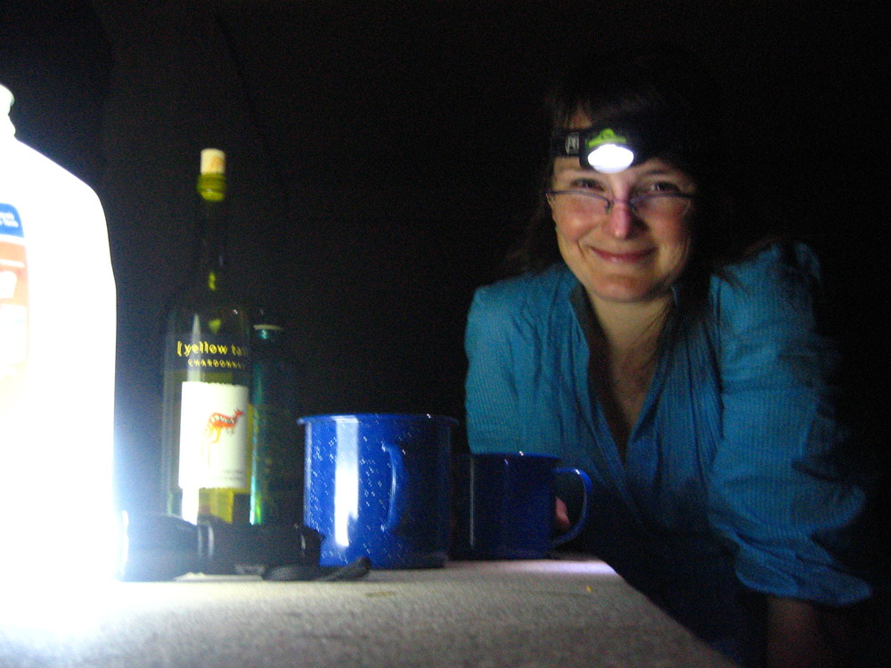 Camping with Wine