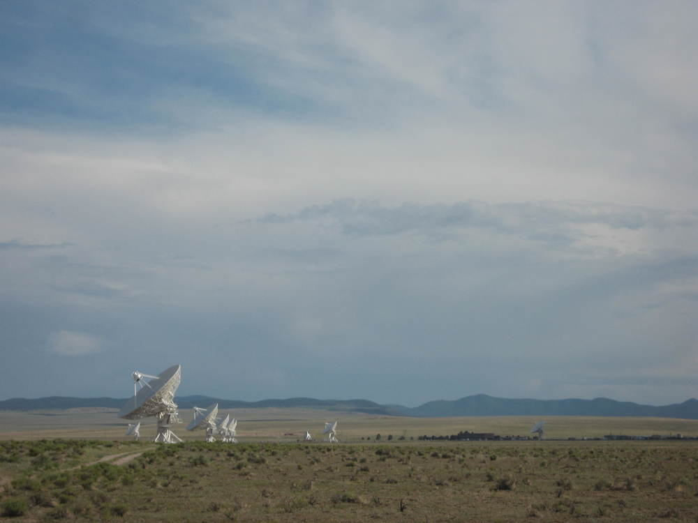 "The Very Large Array, part of the National Radio Astronomy Observatory...Think ""Contact""."