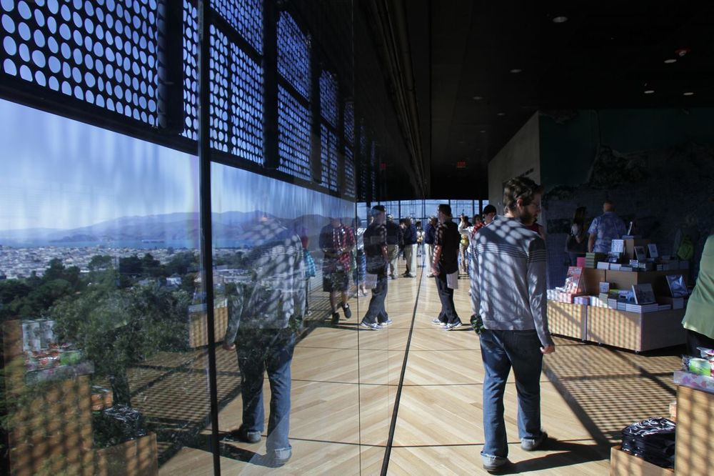 DeYoung observation deck