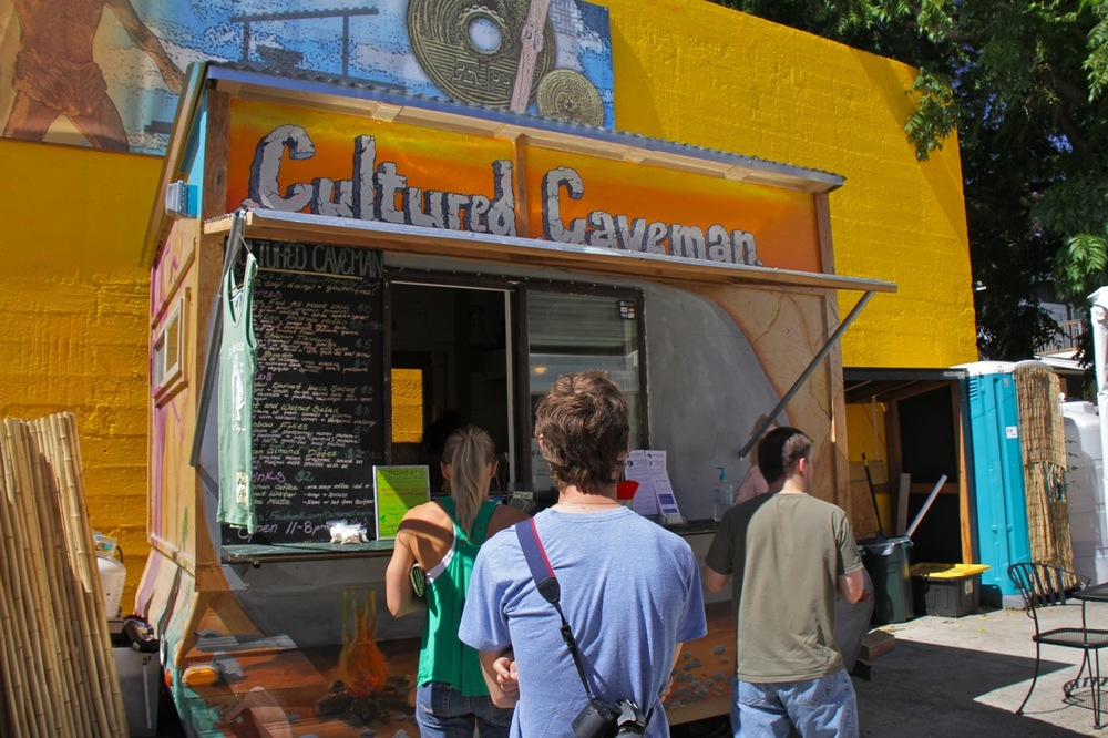 Cultured Caveman, paleo food cart