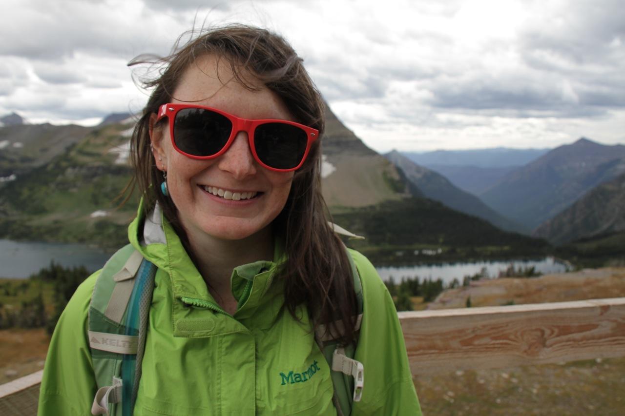 Kristen, Hidden Lake, Glacier National Park
