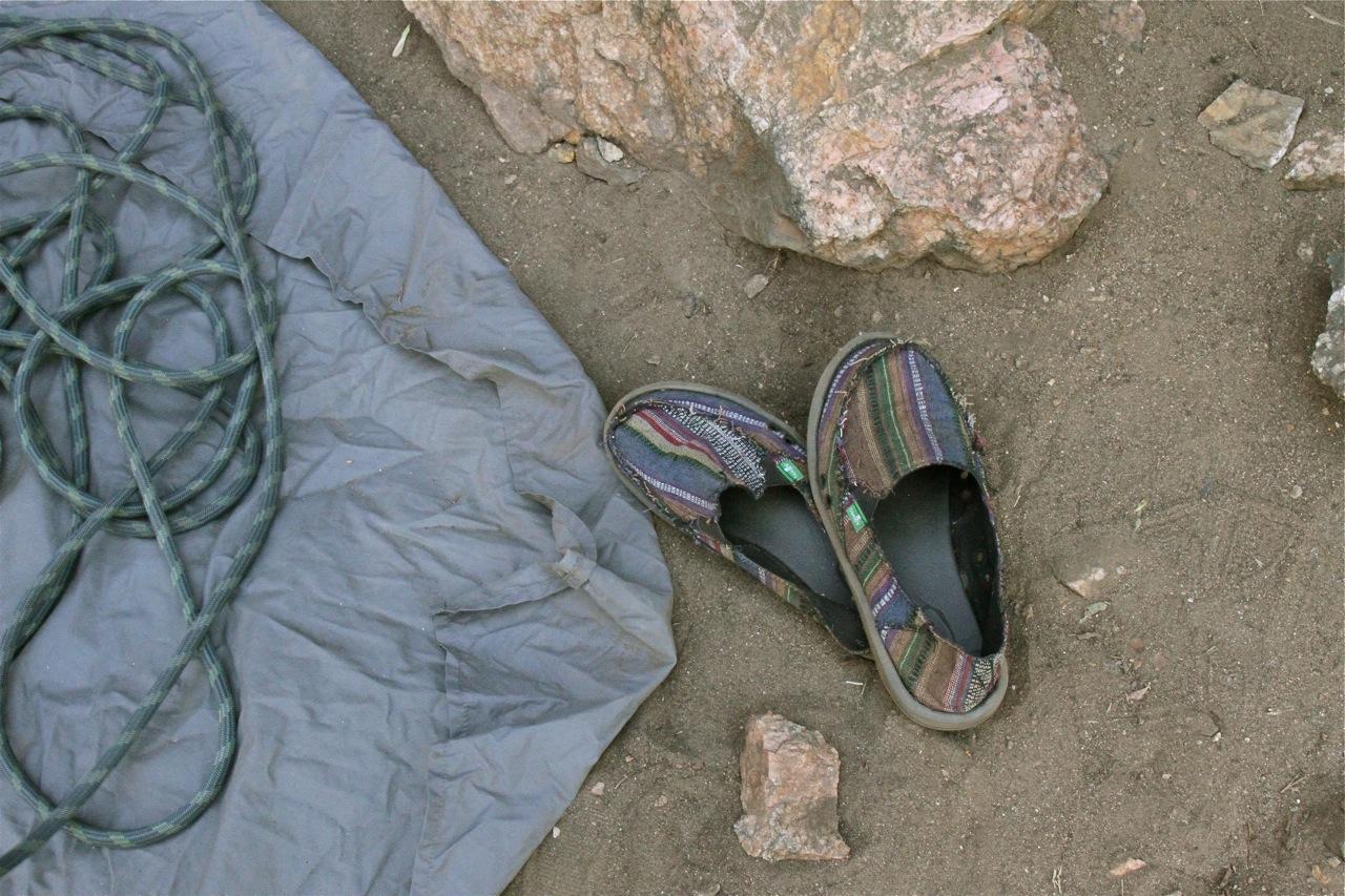 Kristen's shoes
