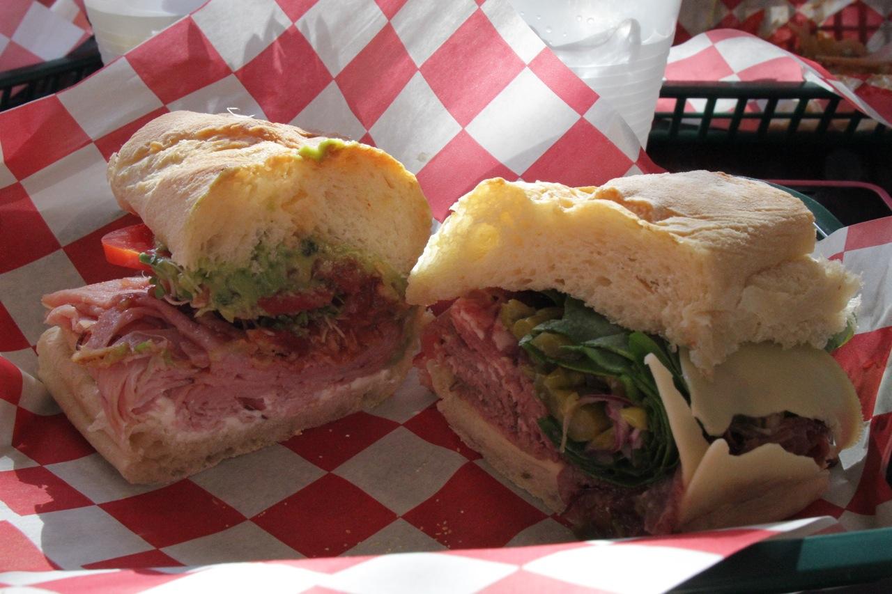 D'deli sandwiches