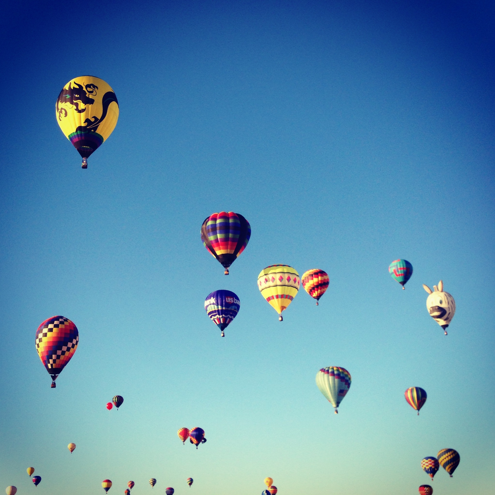 Since we're currently living in Albuquerque, we couldn't miss Balloon Fiesta. It didn't disappoint.