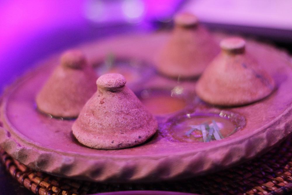 steamed oysters at hanuman restaurant