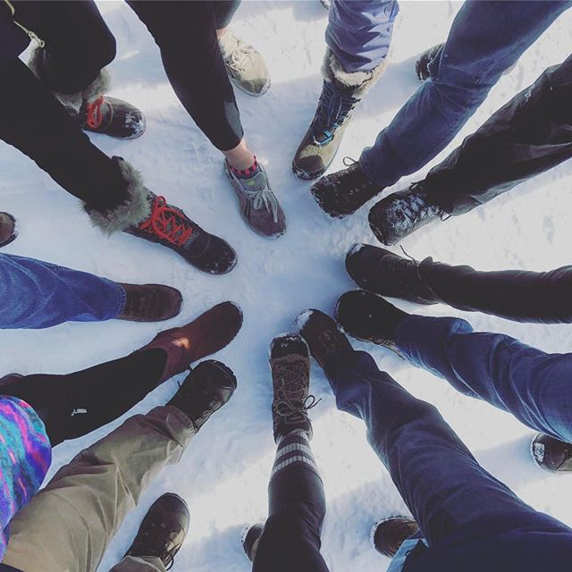 Spent two and a half days in the mountains on a staff retreat with my coworkers, who happen to be eleven of the kindest, most passionate, most inspiring people I've ever known 🙌 #goteam #alliance #sustainablecolorado
