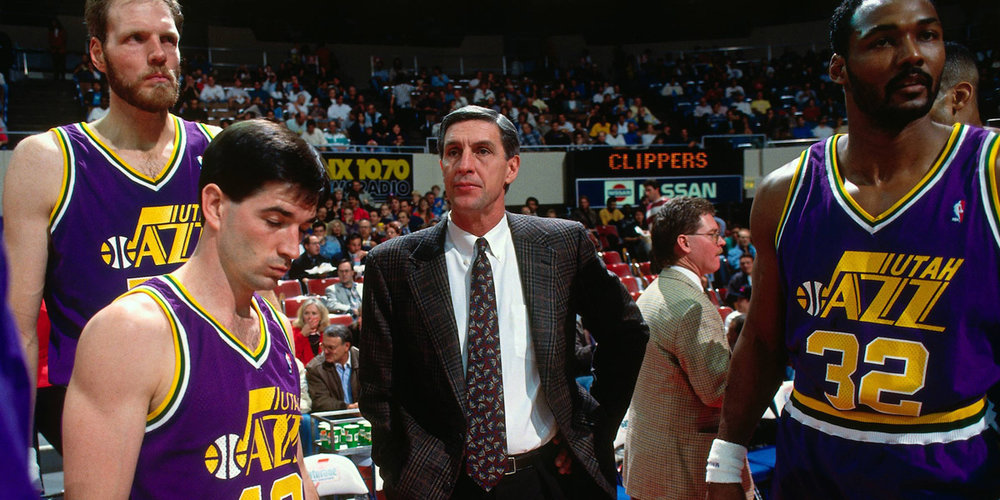 Jerry Sloan and the 1988 Utah Jazz