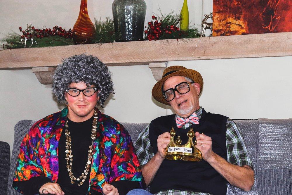 Rick's parents, Ruth & Morty
