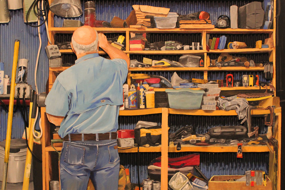 "Cash Teague, ""Work Bench"""