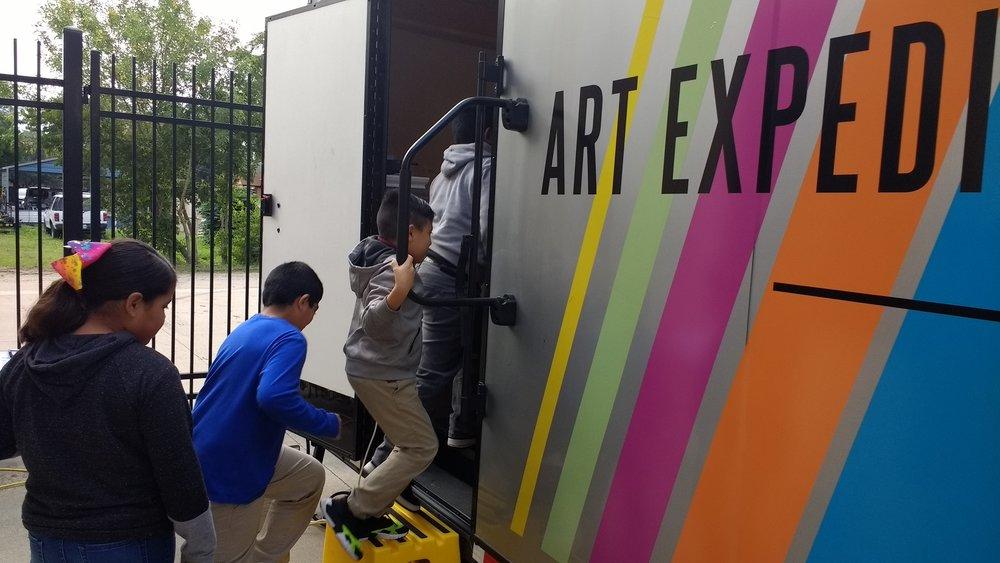 Children Entering the Art Expedition.jpg