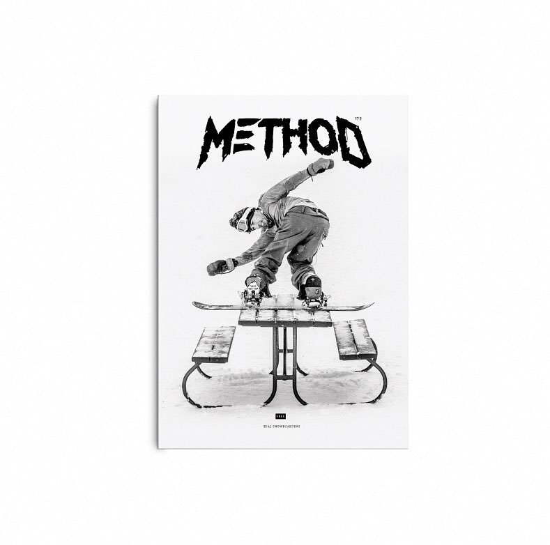 Method Mag issue 17.3, one of the most important European snowboard                                                                      magazines has published a Checkout about us.