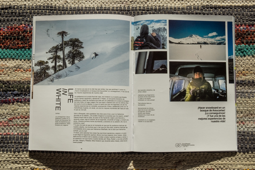 Snowplanet Mag nº 94 published a 12 pages article about our trip to Chile.   Coming soon online.
