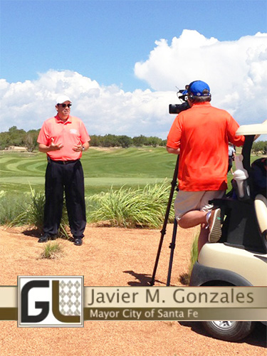 secured strategic relations with golf life/fox sports television & santa fe, nm mayor Javier Gonzales to air featured TV segment