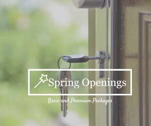 E  arn FAIRY TIME when you book a Spring Opening Package AND any Signature Shopping Service. Offer ends May 15th.