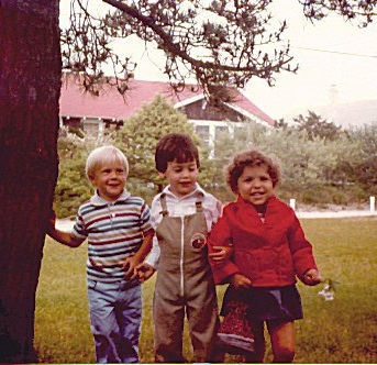 Sabrina and besties down by the school yard… circa 1980-something