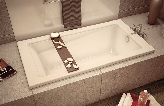 Drop-in bathtub
