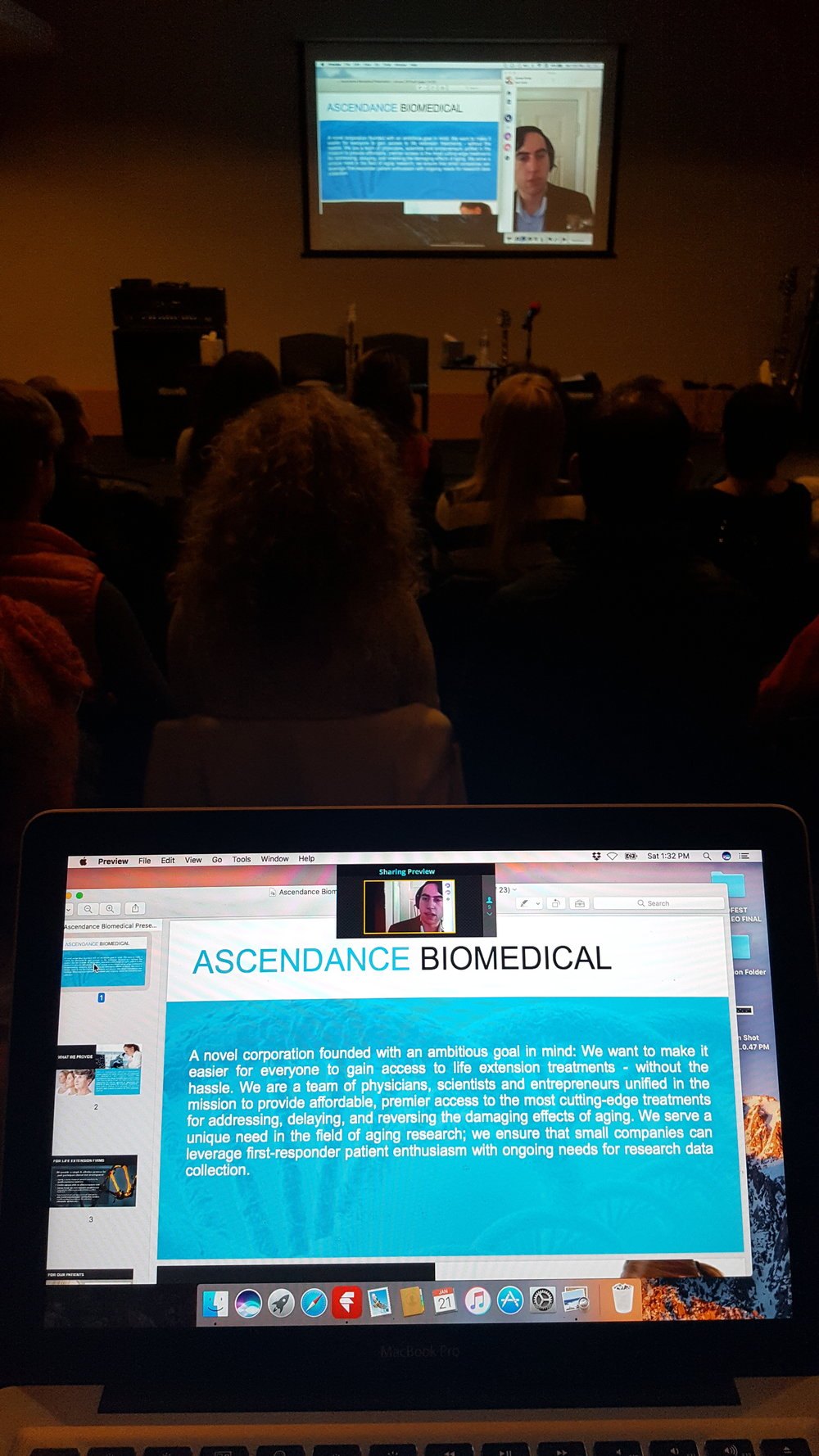 Ascendance Biomedical Aaron Traywick and People Unlimited