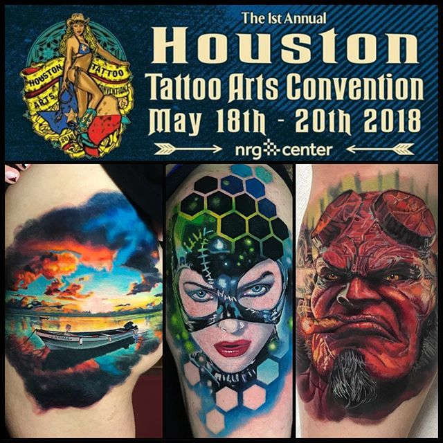 Houston! NOW BOOKING! May 18-20!  Please send me an email or visit www.bobbycupparo.com #houston #houstontexas #houstontattoo @villainarts