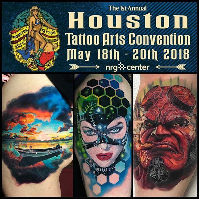 Houston! NOW BOOKING! May 18-20!  Please send me an email or visit www.bobbycupparo.com #houston #houstontexas #houstontattoo @villainarts