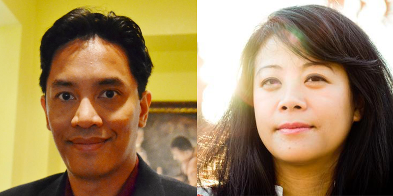 Keynote speakers  Bryan Thao Worra &   Channapha Khamvongsa
